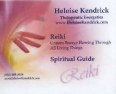 Heloise Kendrick Therapeutic Energetics